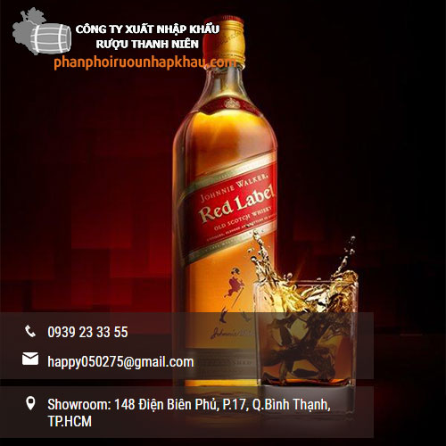 giá rượu Johnnie Walker Red Label