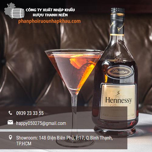 Bảng giá rượu ngoại Hennessy tại TPHCM