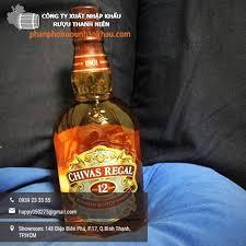 Hướng dẫn phân biệt rượu Chivas thật giả