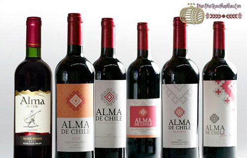 rượu vang chile alma