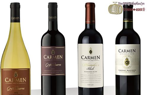 Rượu vang Carmen Chilean Wine