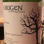rượu vang chile origen