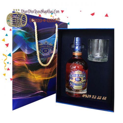Rượu Chivas 18 Hộp Quà 2019 - Chivas 18 Gift Box 2019 TpHcm