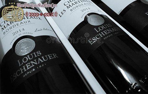 Rượu Vang Chateau Martineaux Bordeaux