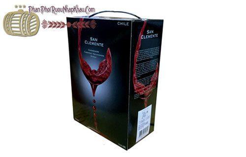 rượu vang chile san clemente