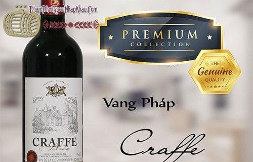 rượu vang pháp craffe