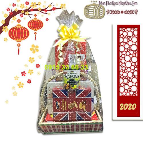 Giỏ quà tết ý nghĩa tặng Gia Đình năm 2020