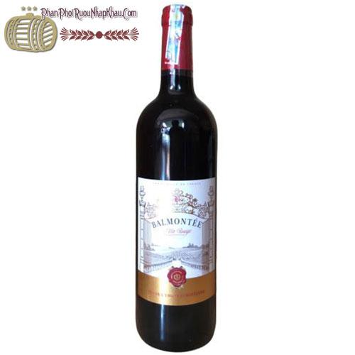 Vang đỏ Balmontee Bordeaux