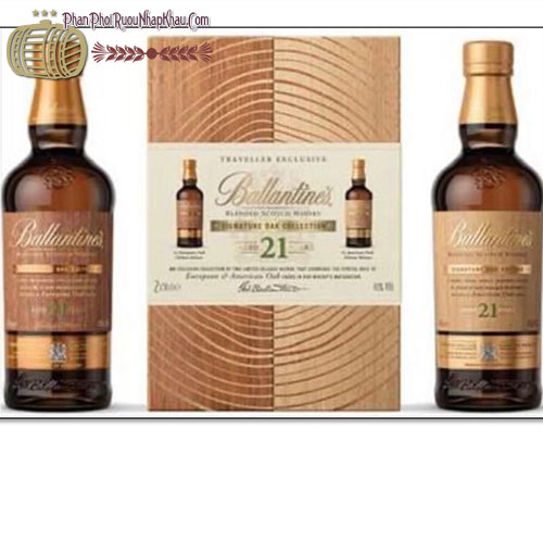 Ballantine's 21 YO (Twin Pack)