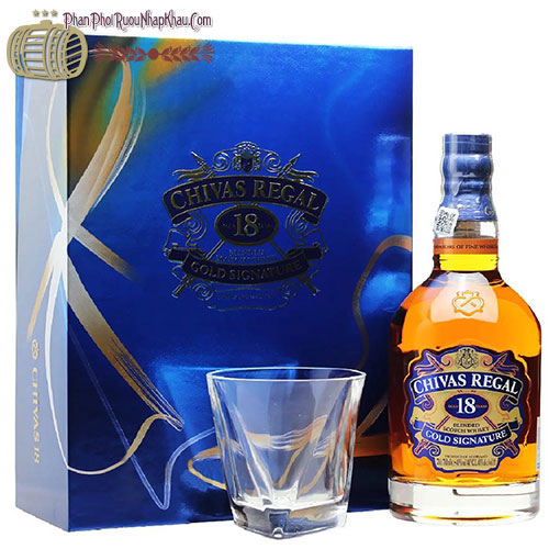Bật tung hộp quà – Thưởng thức hương vị Chivas 18