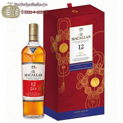 Hộp quà rượu Macallan 12 dành cho năm Canh Tý 2020