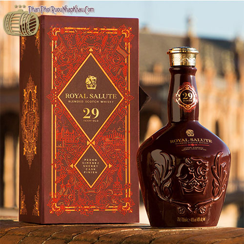 Chivas Regal Royal Salute 29 Years Old Pedro Ximenez Sherry Cask