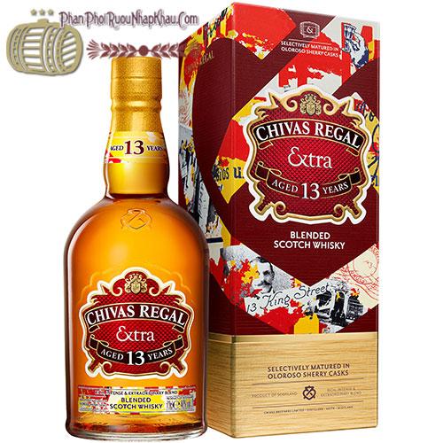 Rượu Chivas Regal 13 King Street Oloroso Sherry Cask