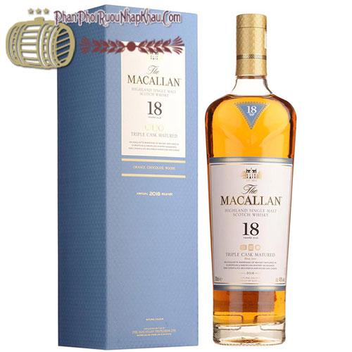 Macallan 18 Triple Cask – Tinh Hoa Của Cuộc Sống