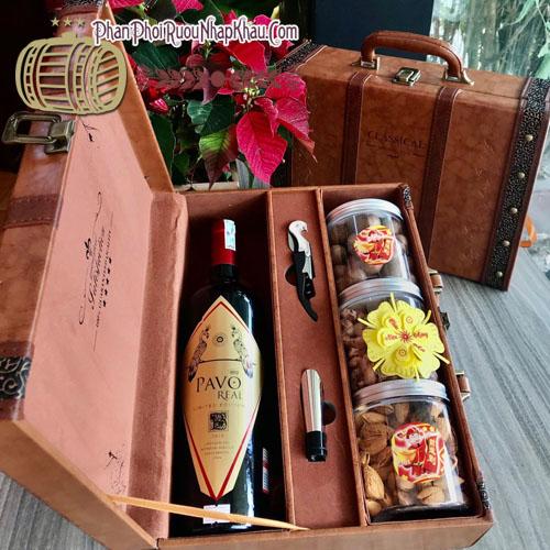 Hộp quà Rượu Vang Pavo 2020