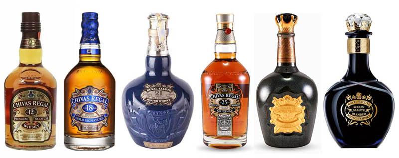 Tìm hiểu quy trình sản xuất rượu Chivas
