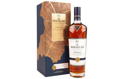 Rượu Macallan Enigma: Dòng sherry thuần của nhà Macallan