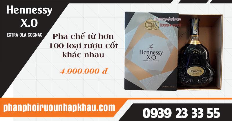 Rượu Hennessy XO 700ml