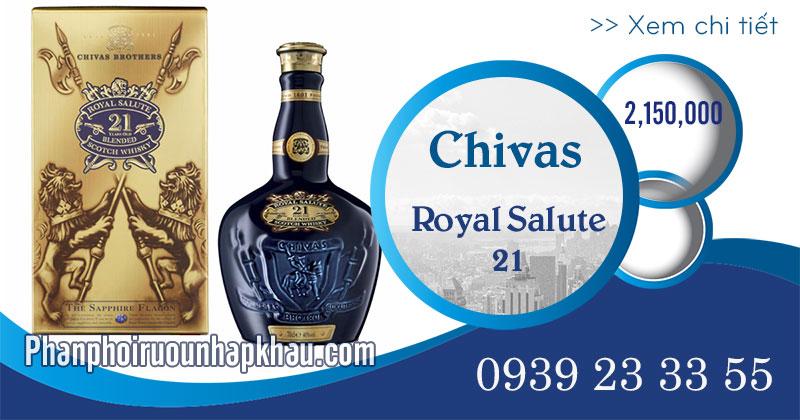 Rượu chivas 21 năm - phanphoiruounhapkhau.com