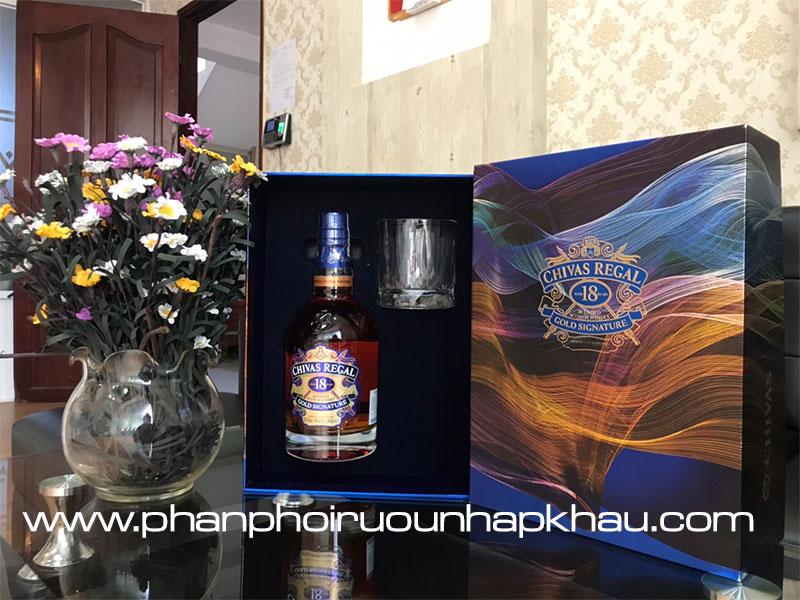 Chivas 18 Hộp Quà 2019 - Phân phối rượu nhập khẩu