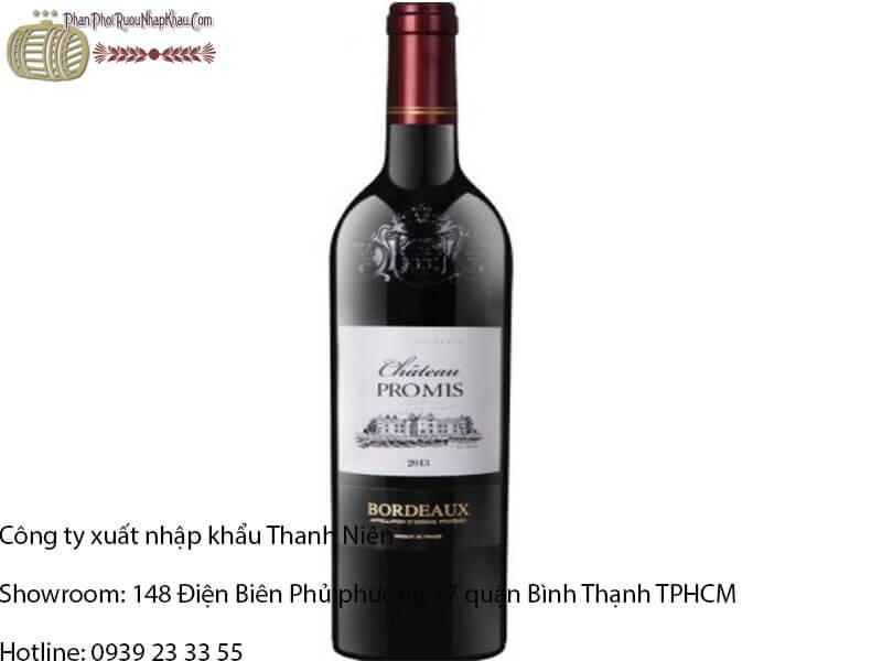 rượu vang pháp promis bordeaux