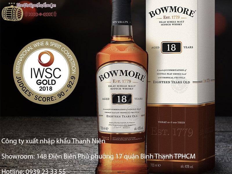 rượu bowmore