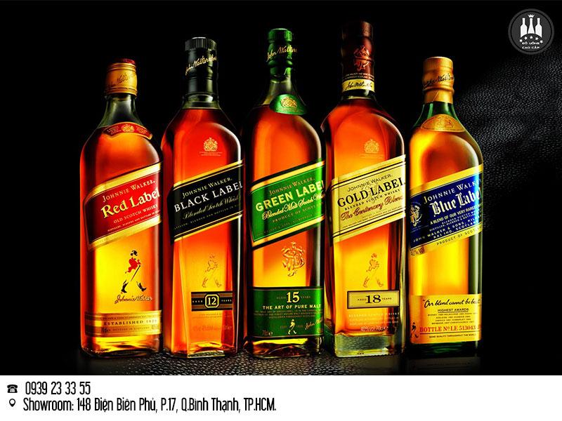 cập nhật giá rượu Johnnie Walker 2020