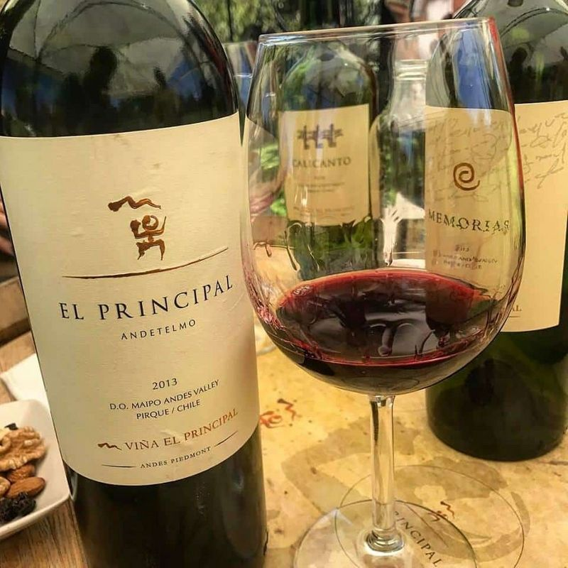 Rượu vang Vina El Principal Memorias